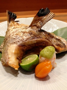 Grilled Hamachi Collar
